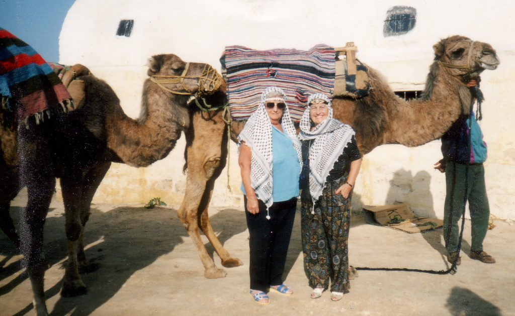 Intrepid travellor 1993 elsie on left