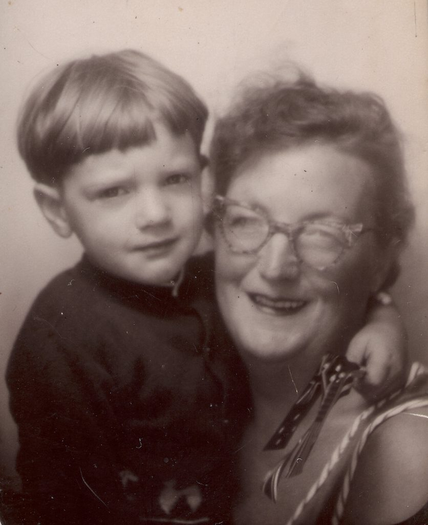 proud mum circa 1959